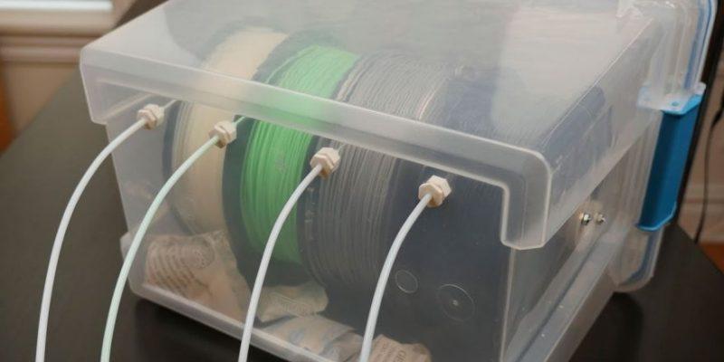 Keeping Carbon Fiber Filament Dry