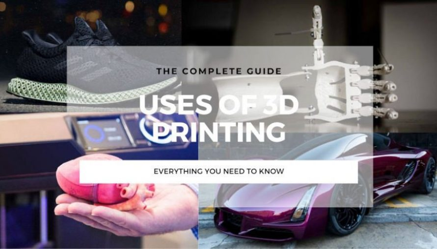 15 Major Uses of 3D Printing Changing Our Lives in 2021