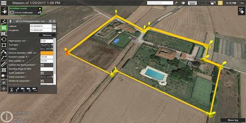 Photogrammetry land surveying