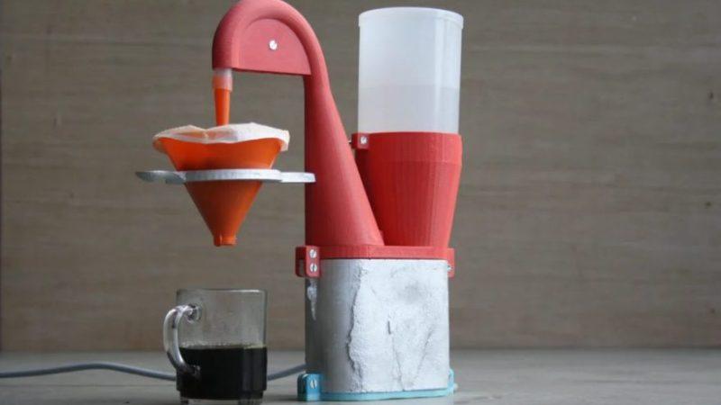 3D Printer project coffee maker full