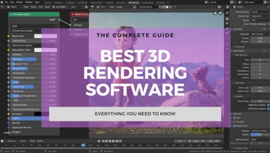 6 Best 3D Rendering Software 2021 (Some are Free!)