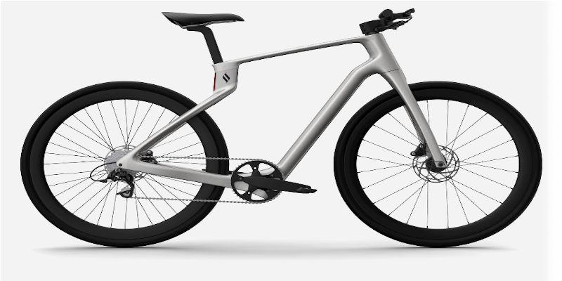 3D printed bike frame superstrata arevo