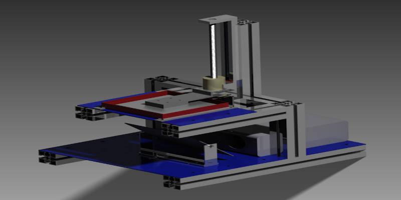 DIY 3D resin printer design