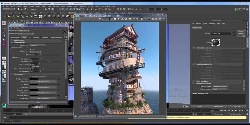 V-Ray 3D rendering software