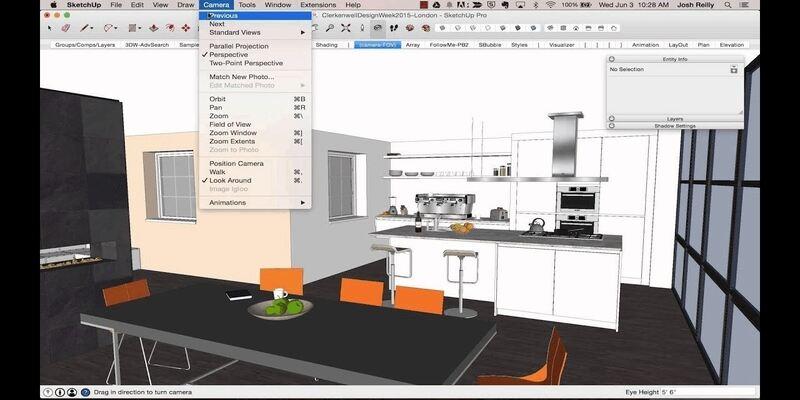 SketchUp home design software