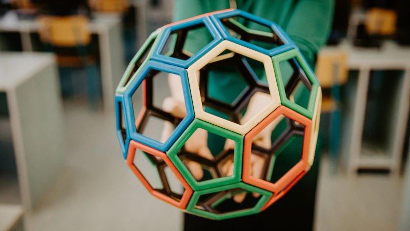 3d printed soccer ball model