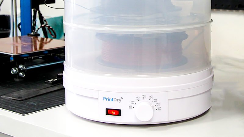filament dryers, a 3d printer accessory for improving filament performance