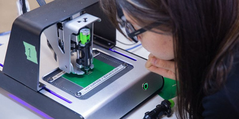 The 3D printed circuit  board process