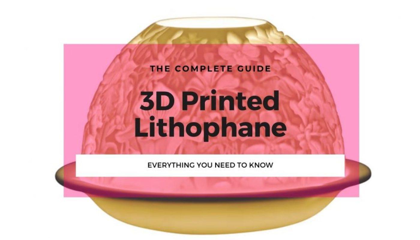 3D printed lithophane thumbnail