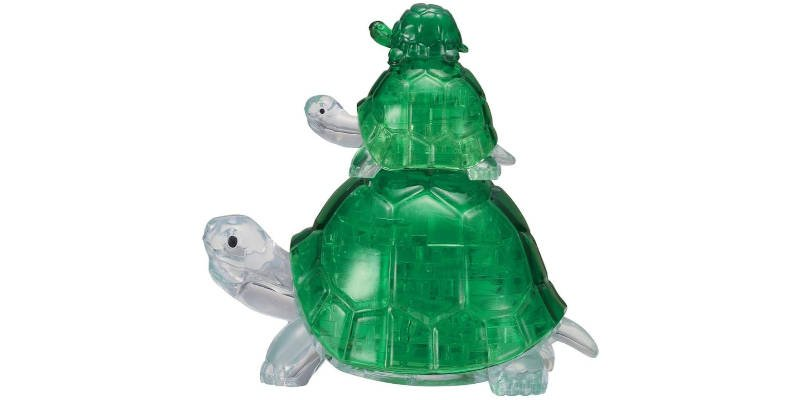 3D Animal turtle jigsaw puzzle