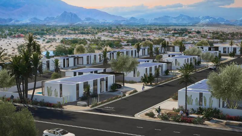 coachella 3d printed homes