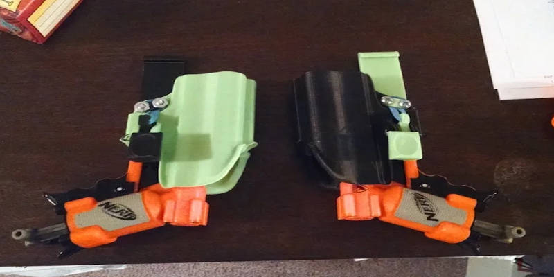 3D Printed Nerf Holsters
