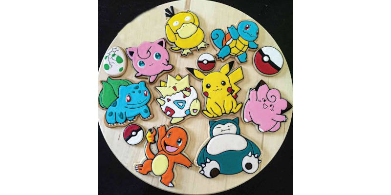 3D Printed Cookie Cutter Pokémon