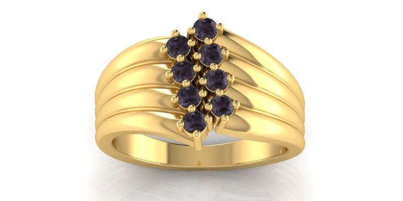 Best 3D Printed Gifts Gold Ring