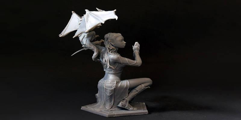Sonia Verdu 3D Printed Figurine
