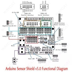Arduino UNO expansion shield 02