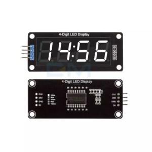 LED display 4x 7seg modul TM1637 01