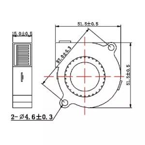 Ventilator 50x50x15 02