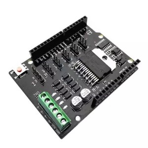 Arduino UNO Dual Channel DC Motor Driver Shield L298NH 02