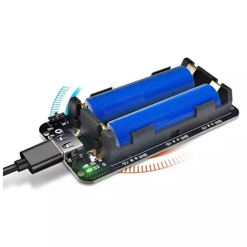 Modul za 18650 baterije dvojni 01