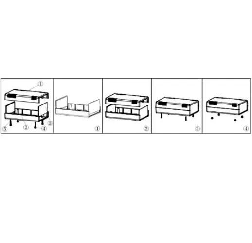 Škatla za projekte plastična 02