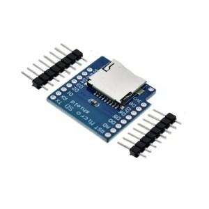 ESP32 D1 mini razširitev – microSD 01