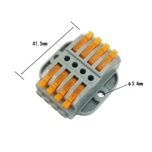 WAGO konektor hitri 2×4