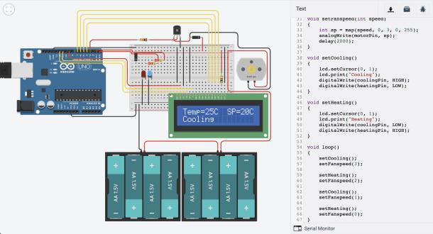 TinkerCAD koda