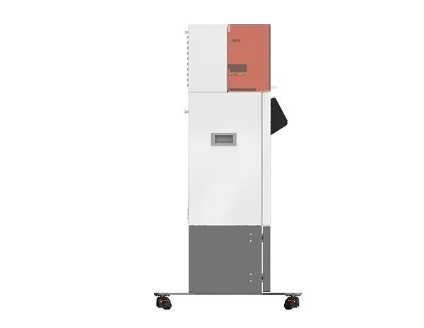 Figure 4 Standalone 3D printer left side view