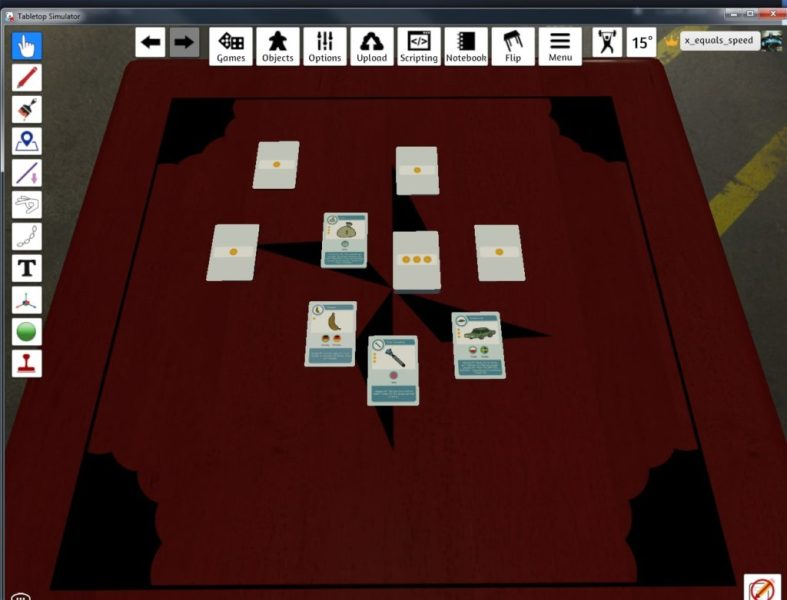 Creating a Tabletop Simulator mod   3DTotal Games3DTotal Games Once your deck is imported into the game  you can drag and drop individual  cards to set up your game however you like  This is how players will  encounter it