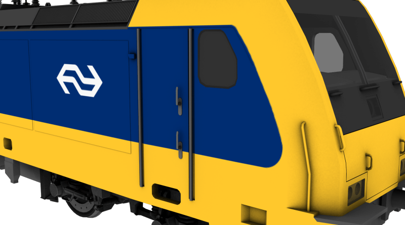 render Bombardier BR 186 project