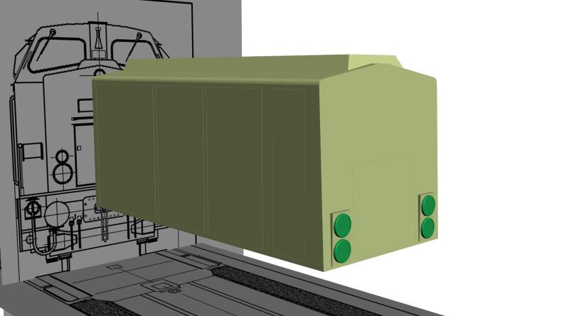 4OSYVRN Alstom BR 203 Project