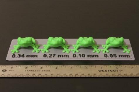 Treefrog Layer Height Comparison