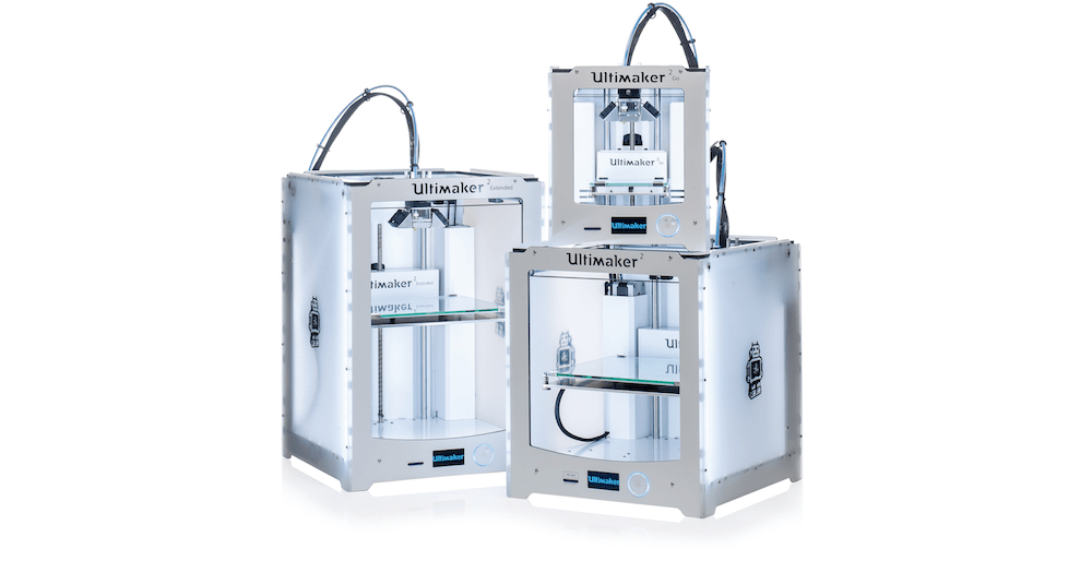 Ultimaker2, the flagship product.