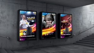 Sony Interactive Entertainment: Supercharged PS4® - Digital Outdoor Panels - Digital Design Sydney