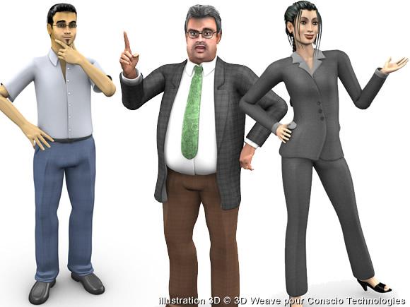 Personnages La Sims 3d Weave