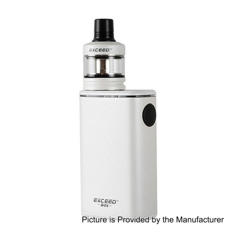 Authentic Joyetech Exceed Box 3000mAh White Mod + D22C Tank 2ml Kit