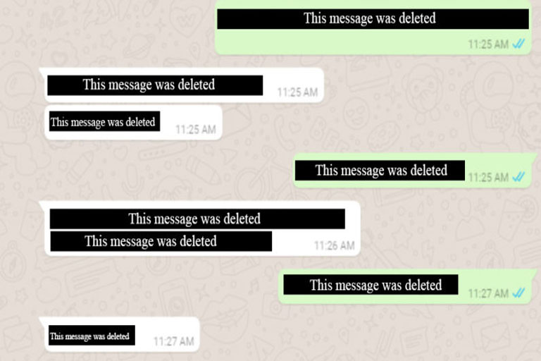 Whatsapp New Feature will Allow Users to Delete Sent Chat