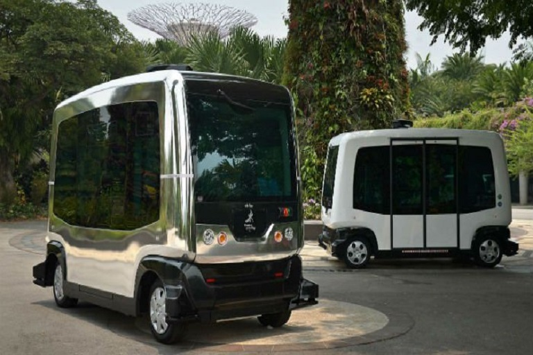 Singapore to Set up Driverless Buses from 2022