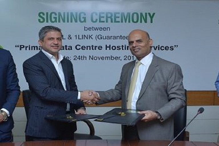 PTCL & 1LINK Sign Agreement for Hosting their Primary Data Center Facility