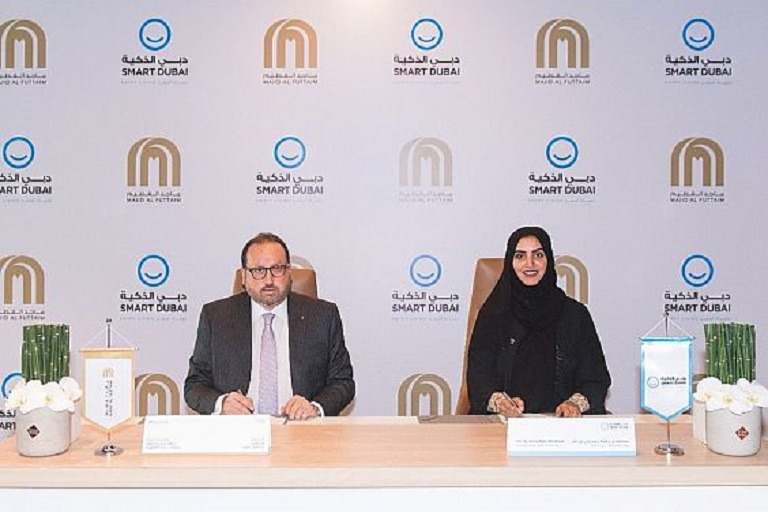 Smart Dubai and Majid Al-Futtaim have Signed a Partnership