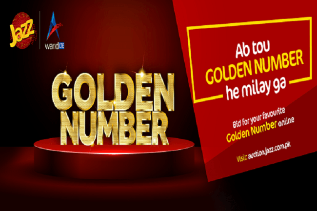 Jazz Launches Exclusive Golden Number Auction