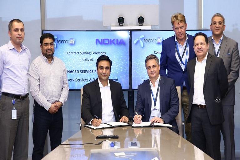 Telenor Pakistan Announced a Contract to Nokia