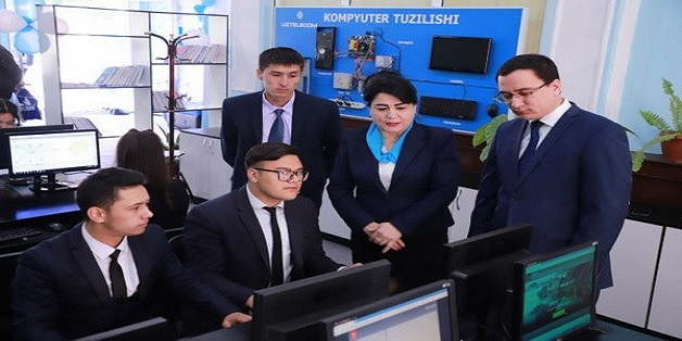 Digital Technology Center Starts in Namangan Uzbekistan