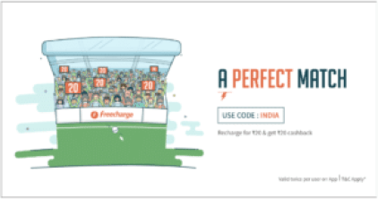 Freecharg INDIA free recharge loot offer