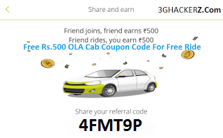 ola coupon code ride now