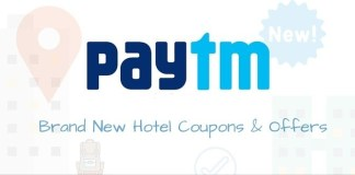 Paytm Hotel Booking Offer loot