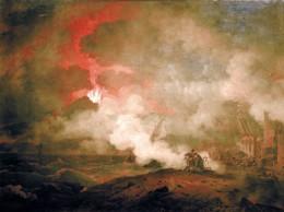 Vesuvius Erupting by Pierre-Henri de Valenciennes