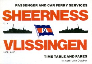 Sheerness to Vlissingen ferry