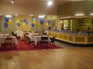 Watney Hall party tables